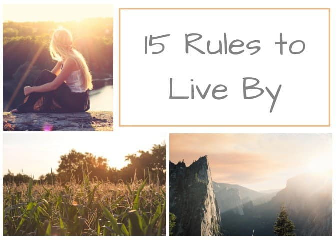 15 Rules Every Woman Should Live By