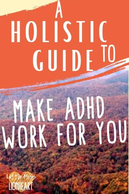 The natural strategies that actually work for your ADHD symptoms. Tried and true, research backed and all.