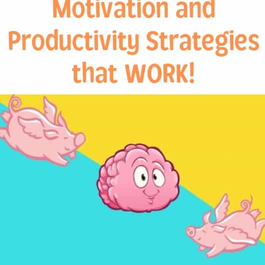 get motivated be productive course