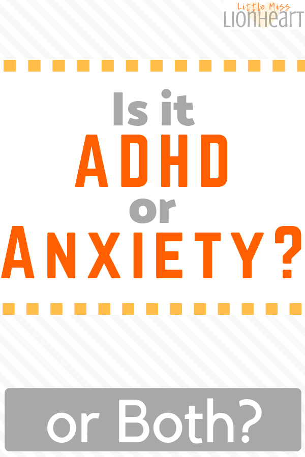ADHD or Anxiety Pin