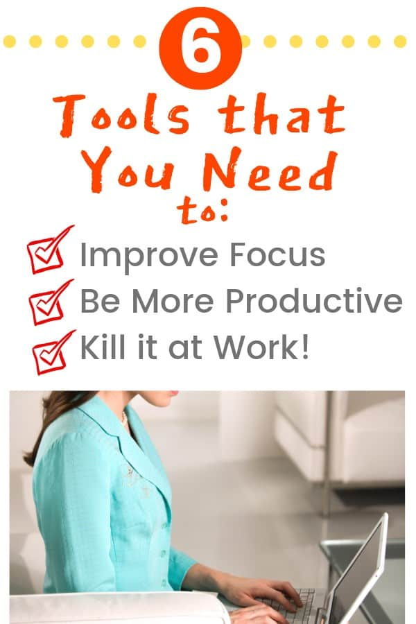 6 productivity tools to be more productive at work