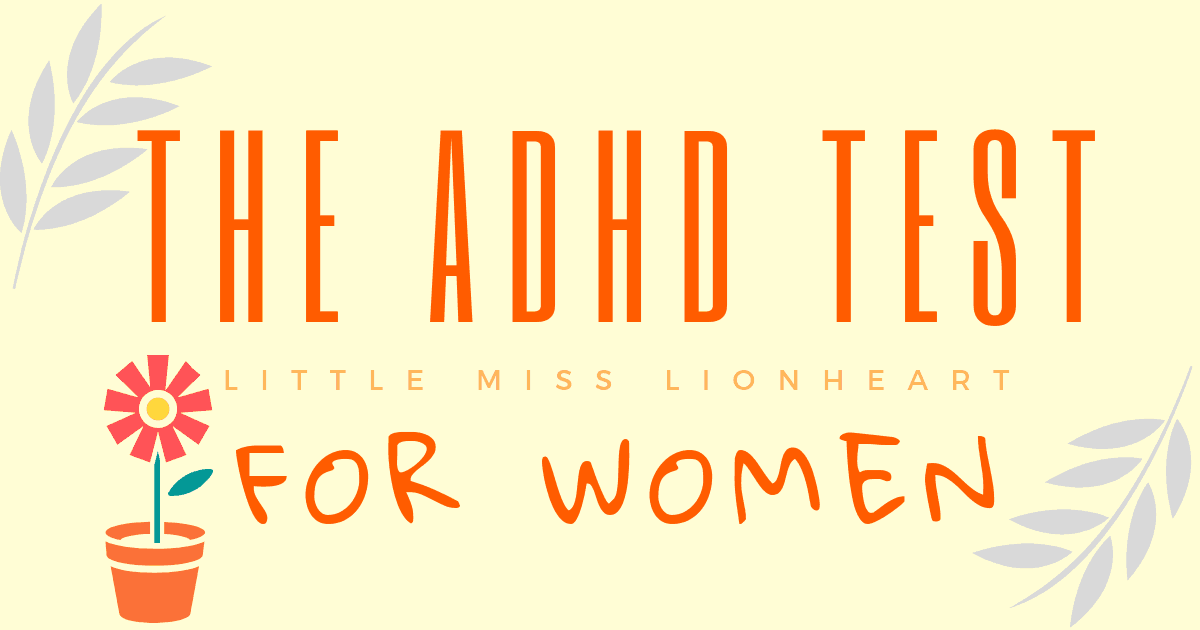 Take The ADHD Test for Women