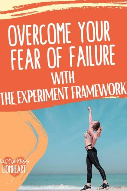 I'm not afraid to fail...and you don't have to be either. The Experiment framework is the mindset I use to fail forward and get rid of the anxiety and perfectionism. You can use my secret to be more confident and go after your goals! Overcome your fear of failure with this unknown life hack
