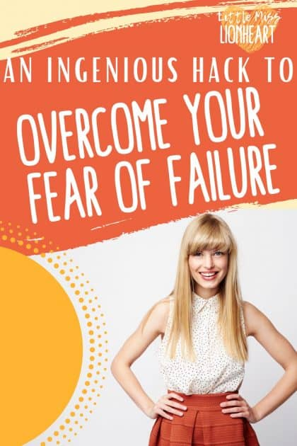 Stop letting fear of failure hold you back with this ingenious hack from someone on the other side of that fear.What would you do if you weren't so afraid you'd fail? Let's get you there!#fear #fearless #fail #failure #failforward