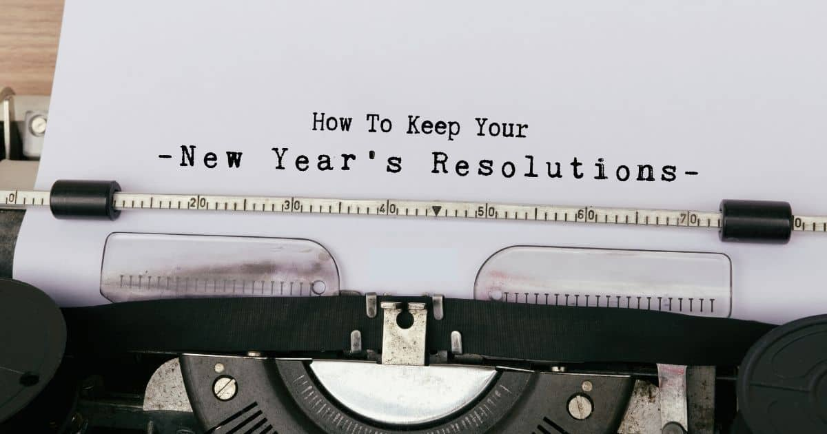 How to Keep Your New Year's Resolution this year. Self Improvement meets Psychology!