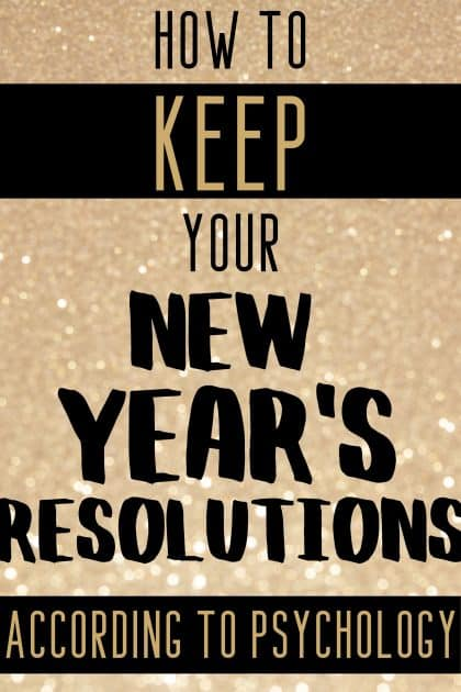 A Therapist Reveals How to Keep Your New Year's Resolutions.Self Growth and Self Improvement Goals really can be reached if you implement these psychological tips!