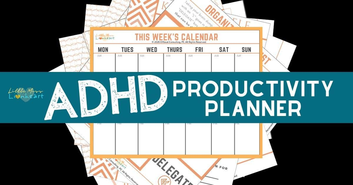 The ADHD Productivity Planner