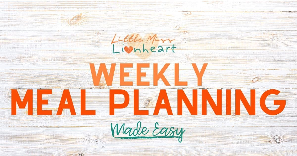 Weekly Meal Planning Made Easy