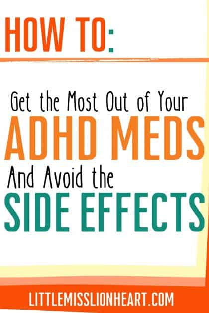 Stimulants are super effective for your ADHD symptoms but dang, they can have some difficult side effects. These strategies help you REDUCE side effects while getting the MOST out of your ADHD medication.